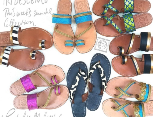 IRIDESCENCE – SANDAL COLLECTION
